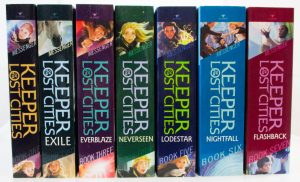 One of my favorite books series is Keeper of the Lost Cities